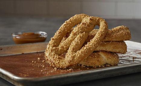 Seasonal Caramel Almond Pretzels : almond pretzel | Innovation Food | Scoop.it