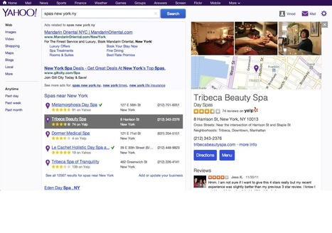 YELP - Yahoo Taps Yelp to Boost Search Results | e-commerce & social media | Scoop.it