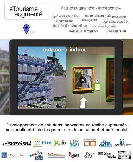 Projet eTourisme Augmenté (réalité augmentée) - i-Marginal - Agence digitale : conception, réalisation, développements, création de contenus pour tous les écrans et supports numériques | Eco Tourisme et Développement Durable | Scoop.it