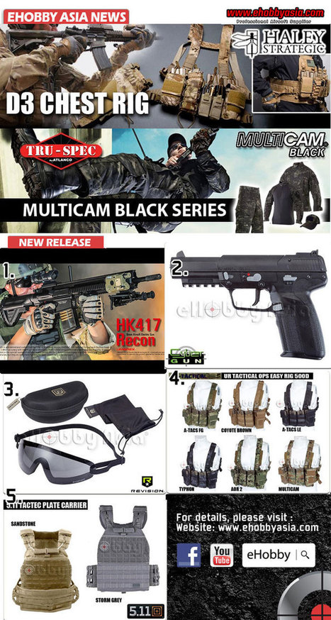Umarex HK417 Recon & CyberGun FN57 CO2 | Popular Airsoft | Airsoft Showoffs | Scoop.it