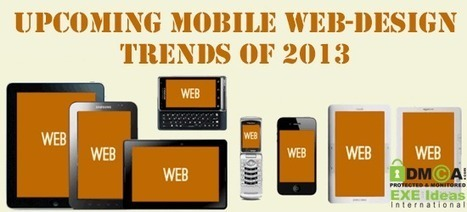 Upcoming Mobile Web-Design Trends Of 2013 #mobiledesign | Social Media CC | Scoop.it