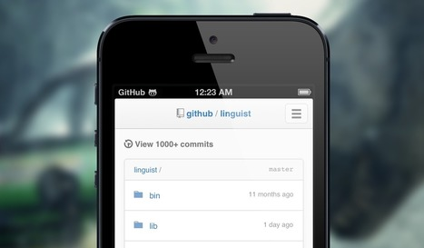 GitHub's on your phone · GitHub | API's on the web | Scoop.it