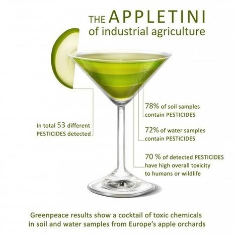 Pesticides : ces pommes qui laissent un goût amer | Toxique, soyons vigilant ! | Scoop.it