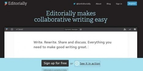 Write in collaboration with Editorially.com | Web Resource | Scoop.it
