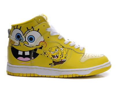 Spongebob Squarepants Shoes Cartoon Nike Dunks Hi Spongebob Squarepants sneakers /nike dunks Spongebob Squarepants | Spongebob Nike Dunks | Scoop.it