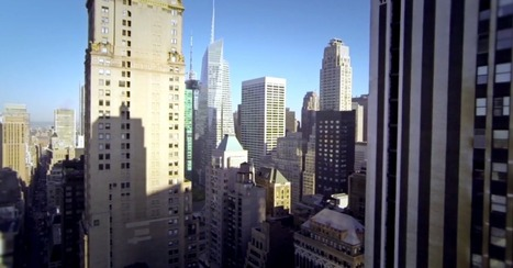 GoPro-Equipped Drone Offers Bird's-Eye-View of NYC | Video Ideas | Video Production | Video Marketing | Scoop.it