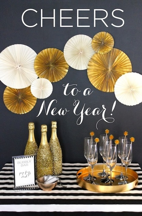 New Year's Eve Party Decor Ideas, party decor | Home Decor Designs | Scoop.it