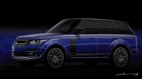 Preview: 2013 Range Rover RS600 by A.Kahn Design - GTspirit   Operations   Scoop.it