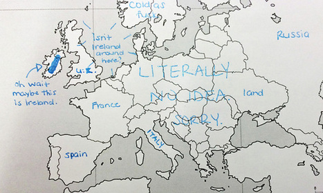Americans Were Asked To Place European Countries On A Map. Here's What They Wrote: | Saif al Islam | Scoop.it