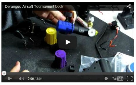 HPA CONTROL for Events! - Deranged Airsoft Tournament Lock - Deranged Airsoft on YouTube   Thumpy's 3D House of Airsoft™ @ Scoop.it   Scoop.it