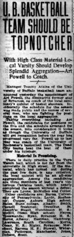 1915-1916 Buffalo Basketball - Digital Collections - University at ... | Verdun | Scoop.it