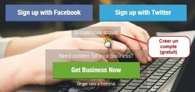 Créer un compte Scoop.it gratuit (veille et curation) | Ecrire Web | Scoop.it