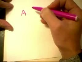 How to write shape relief alphabet. | Creativity and imagination | Scoop.it
