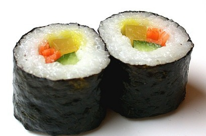 Health and Nutrition for Kids -  Vegetable Sushi Recipe   Food, Health, Recipes and Tips   Scoop.it
