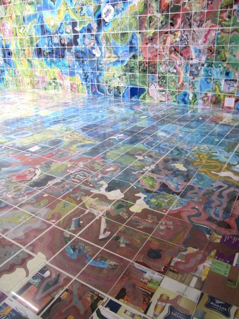 Jerry Gretzinger : Jerry`s Map | Art Installations, Sculpture, Contemporary Art | Scoop.it