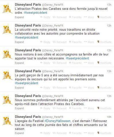 Disneyland Paris : une communication de crise à deux doigts du naufrage | E-Réputation des marques et des personnes : mode d'emploi | Scoop.it