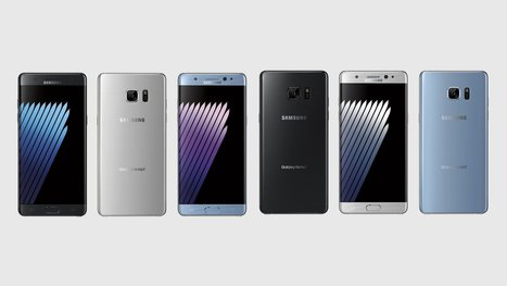 Leaked Samsung Galaxy Note 7 Renders Shown In Triad Of Colors - Prime Inspiration | Mobile | Scoop.it
