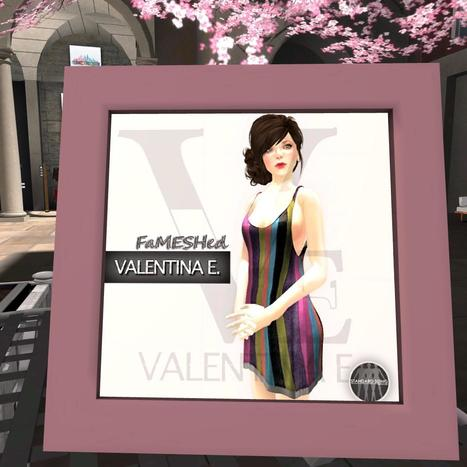 Tank Dress Stripes FaMESHed Group Gift by Valentina E. | Teleport Hub - Second Life Freebies | Second Life Freebies | Scoop.it