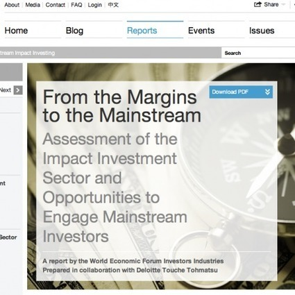 From the Margins to the Mainstream: Assessment of the Impact Investment Sector and Opportunities to Engage Mainstream Investors | Nonprofit Impact Investing | Scoop.it