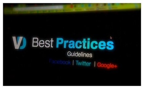 Les « best practices » sur Facebook, Twitter et Google+ | Image Digitale | Scoop.it