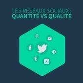 Les réseaux sociaux : quantité vs qualité | CommunityManagementActus | Scoop.it