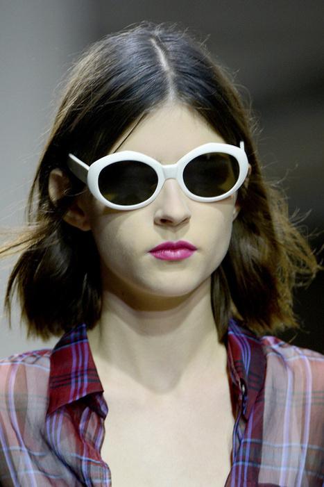 Lunettes Mode – Les lunettes de soleil du défilé Dries Van Noten | Lunettes Mode | Scoop.it