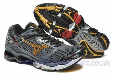 Mizuno Wave Creation 13 Mens Running Shoes Grey.jpg (465x309 pixels)   fashionshoes   Scoop.it