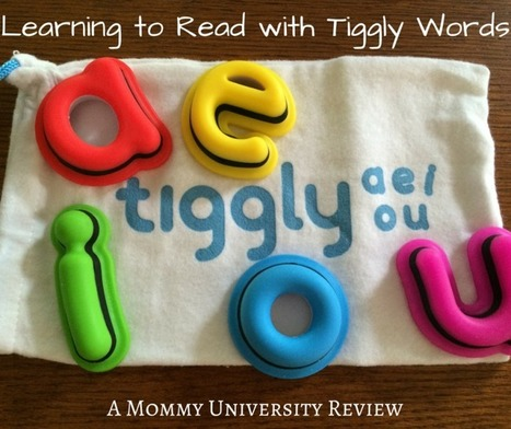 Learning to Read with Tiggly Words- Mommy University | iPads in Education | Scoop.it