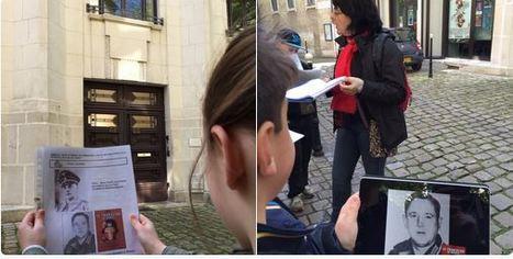 Usages des tablettes autour d'un rallye-Mémoire à Bourges (18) Tweet de @carrere_bruno   FRANCAIS FLE   Scoop.it