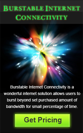 Burst beyond your set Amount of Bandwidth with Burstable Internet Connectivity   Cloud, Telecom, and Internet   Scoop.it