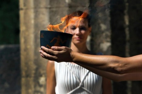 Olympia Tour - Flame Lighting Ceremony 2016 | Ancient Olympia | Scoop.it