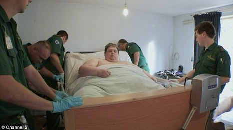 World's 'fattest man' Keith Martin who lives in London is 58-stone | Amusing, Shocking & Thought-Provoking News | Scoop.it