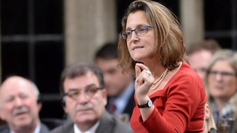 Canada will sign TPP - but 'signing does not equal ratifying,' Freeland says | Canada and its politics | Scoop.it
