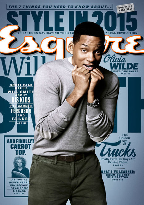 Will Smith on Kids, Career, and Failure   Yr 9, 10, 11 English Classes   Scoop.it