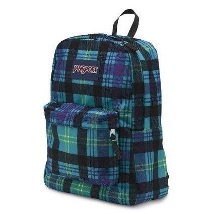 Cheap JanSport Classic SuperBreak Backpack (Mammoth Blue Preston Plaid) | cheaphomeappliances | Scoop.it