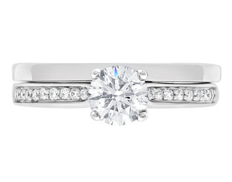 0.92 carat side stone diamond ring | Engagement Rings | Scoop.it