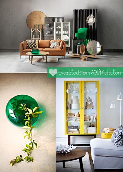 Happy Interior Blog: Ikea's New Stockholm 2013 Collection | Interior Design & Decoration | Scoop.it