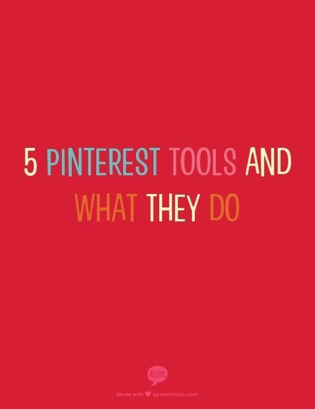 5 Pinterest Tools and What They Do | CrafterMinds | Love and Light Marketing | Scoop.it