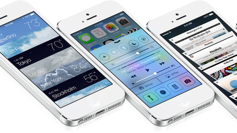 First glance at the new features in Apple's iOS 7   GG Group IT Solutions   Scoop.it