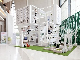 Multi-layered urban housing prototype packs in plenty of great small space ideas | Vertical Farm - Food Factory | Scoop.it
