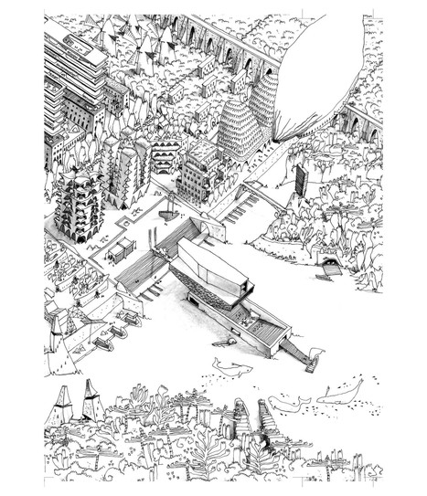 The BEST Architecture Drawings of 2015 | The Architecture of the City | Scoop.it