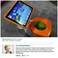 Introducing the iPotty. What next? - Read, listen and learn a little English! | Thinking, Speaking, and Writing | Scoop.it
