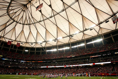 Atlanta Falcons, Not Interested in Fixer-Upper, Seek a New Stadium | Sports Facility Management.4027596 | Scoop.it
