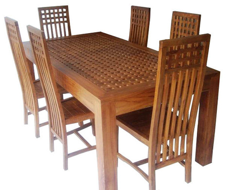 TEAK DINING TABLES, TEAK DINING TABLES direct from CV. JEPARA CRAFTER FURNITURE in Indonesia | Teak wood furniture | Scoop.it