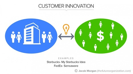 The 5 Types Of Innovation For The Future Of Work, Pt. 2: Customer Innovation | Peer2Politics | Scoop.it