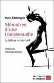Mémoires d'une transsexuelle, Marie-Edith Cypris | De plume et d'écran | Scoop.it