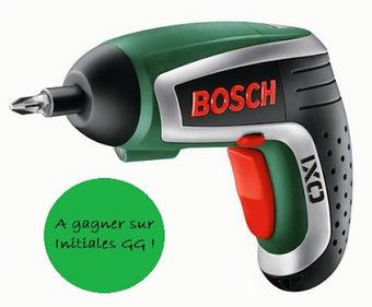 Concours : une visseuse IXO de Bosch à gagner! | DIY DIY | Scoop.it