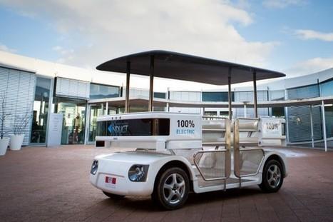 Navia : véhicule électrique robotisé et sans chauffeur | veille technologique sur la robotique 3C | Scoop.it