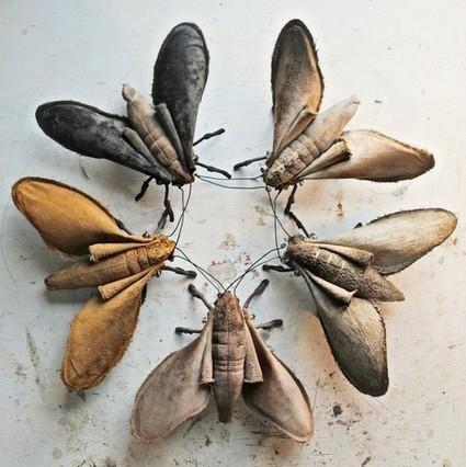 Arty Webzine - Mr Finch : l'art du textile dans toute sa splendeur | Artisanat, textile, savoirs-faire | Scoop.it