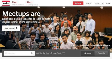 Speaking More English Outside of Class: Meetup.com | PLE_language_learning | Scoop.it